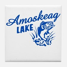 Amoskeag Lake Tile Coaster