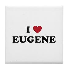 EUGENE.png Tile Coaster