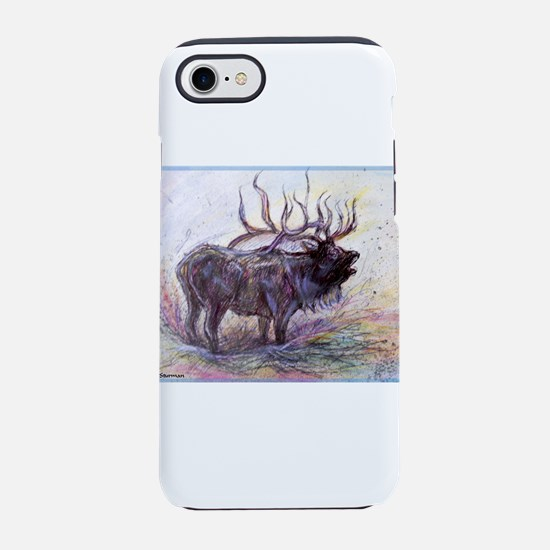 Elk! Wildlfie art! iPhone 7 Tough Case