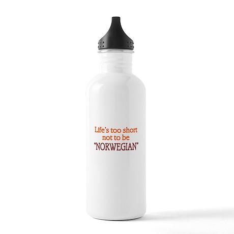Life Short Norwegian Stainless Water Bottle 1.0L