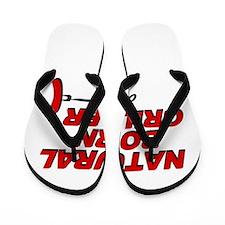Natural Born Grillers Flip Flops