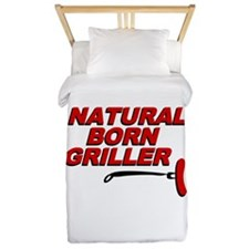 Natural Born Grillers Twin Duvet
