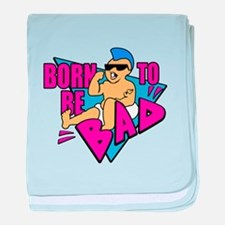 Born to be Bad baby blanket