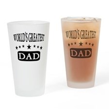 Wolds Greatest Dad Drinking Glass
