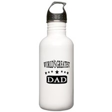 Wolds Greatest Dad Water Bottle