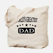 Wolds Greatest Dad Tote Bag