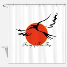 Ring of Fire Eagle Shower Curtain