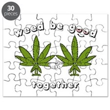 Weed be Good Together Puzzle