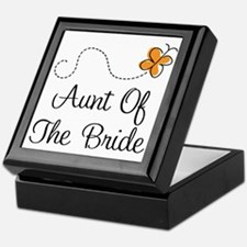 Aunt of the Bride Gift Keepsake Box