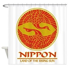 Nippon (Crane).png Shower Curtain