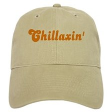 Chillaxin' Baseball Cap (White or Khaki)