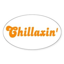 Chillaxin' Vinyl Decal