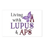 Living with Lupus APS Postcards (Package of 8)