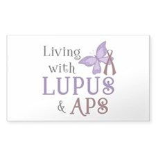 Living with Lupus APS Decal