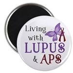 Living with Lupus APS Magnet