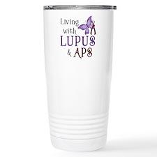 Living with Lupus APS Travel Mug