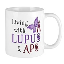 Living with Lupus APS Mug