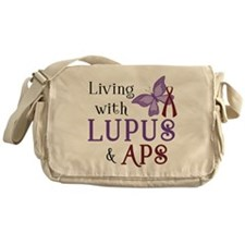 Living with Lupus APS Messenger Bag