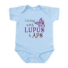 Living with Lupus APS Infant Bodysuit