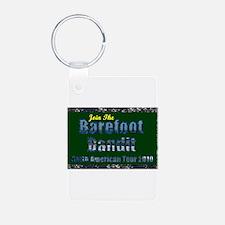 Barefoot Bandit Tour Keychains