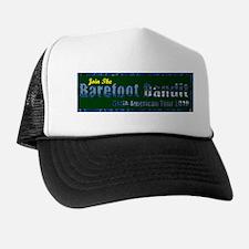 Barefoot Bandit Bumpersticker Trucker Hat