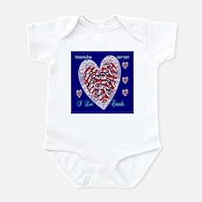 Victoria Day Infant Bodysuit I Love Canada
