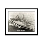 USS SPIEGEL GROVE Framed Panel Print