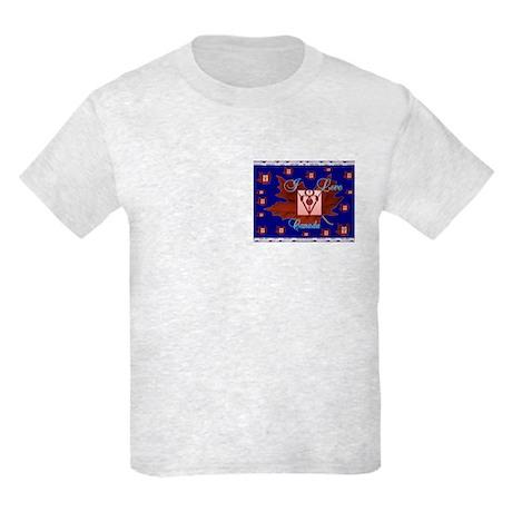 I Love Canada Kids Light T-Shirt