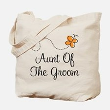 Aunt of the Groom Gift Tote Bag