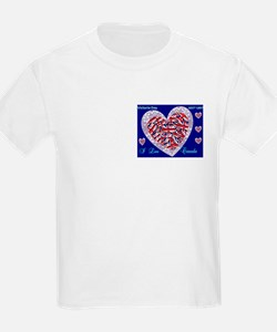 I Love Canada T-Shirt Victoria Day