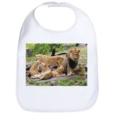 LION FAMILY Bib