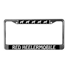 Red Heelermobile License Plate Frame