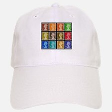 UK Stamps Baseball Baseball Cap