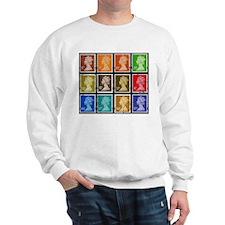 UK Stamps Sweatshirt