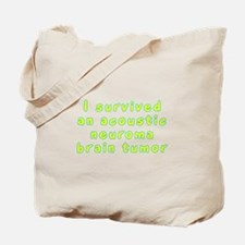 Acoustic neuroma brain tumor - Tote Bag