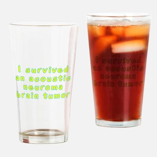 Acoustic neuroma brain tumor - Drinking Glass