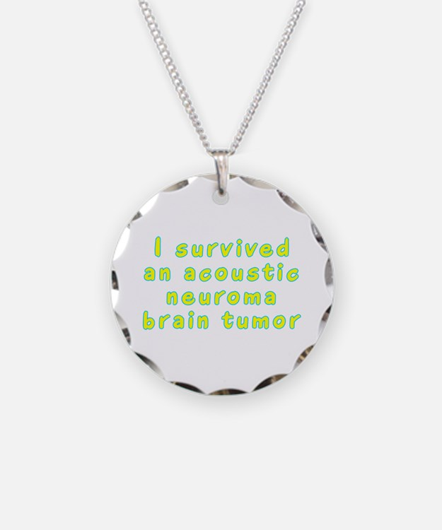 Acoustic neuroma brain tumor - Necklace Circle Cha