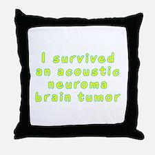 Acoustic neuroma brain tumor - Throw Pillow