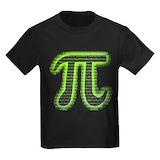 Pi day t shirts Kids T-shirts (Dark)