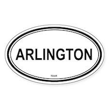 Arlington (Texas) Oval Decal