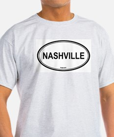 Nashville (Tennessee) Ash Grey T-Shirt