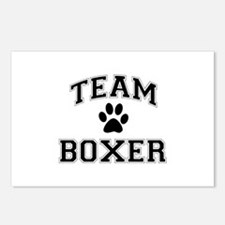 Team Boxer Postcards (Package of 8)