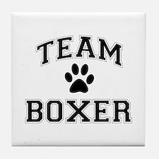 Team Boxer Tile Coaster