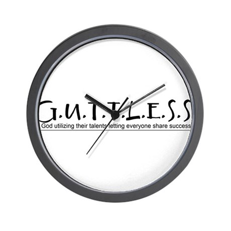 GuttlessGear_Basic Wall Clock