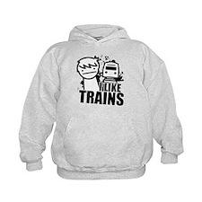 I Like Trains! Hoodie