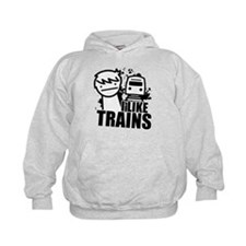I Like Trains! Hoody