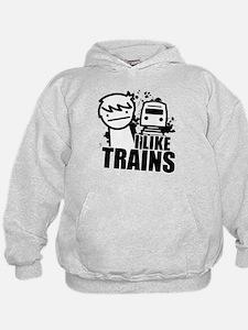 I Like Trains! Hoody