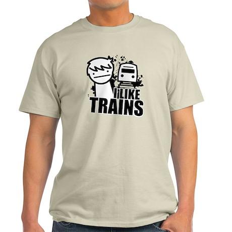 I Like Trains! Light T-Shirt