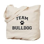 Team Bulldog Tote Bag