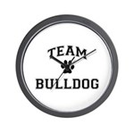 Team Bulldog Wall Clock